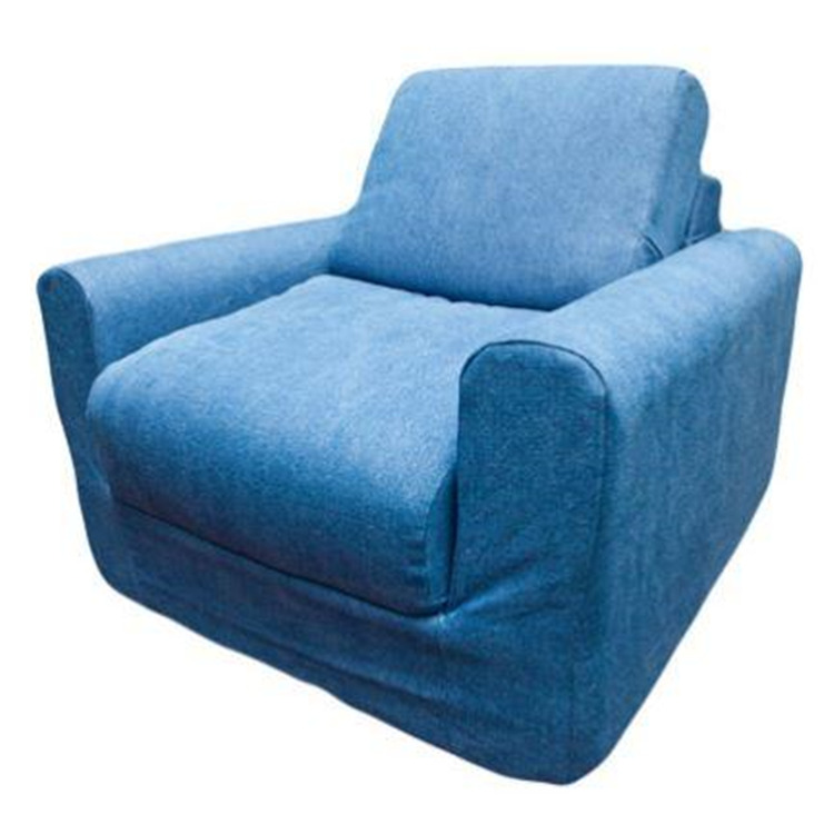 Fun Furnishings Kid\'s Denim Chair Sleeper
