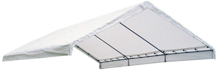 ShelterLogic 18×30 Canopy White Replacement Cover for 2