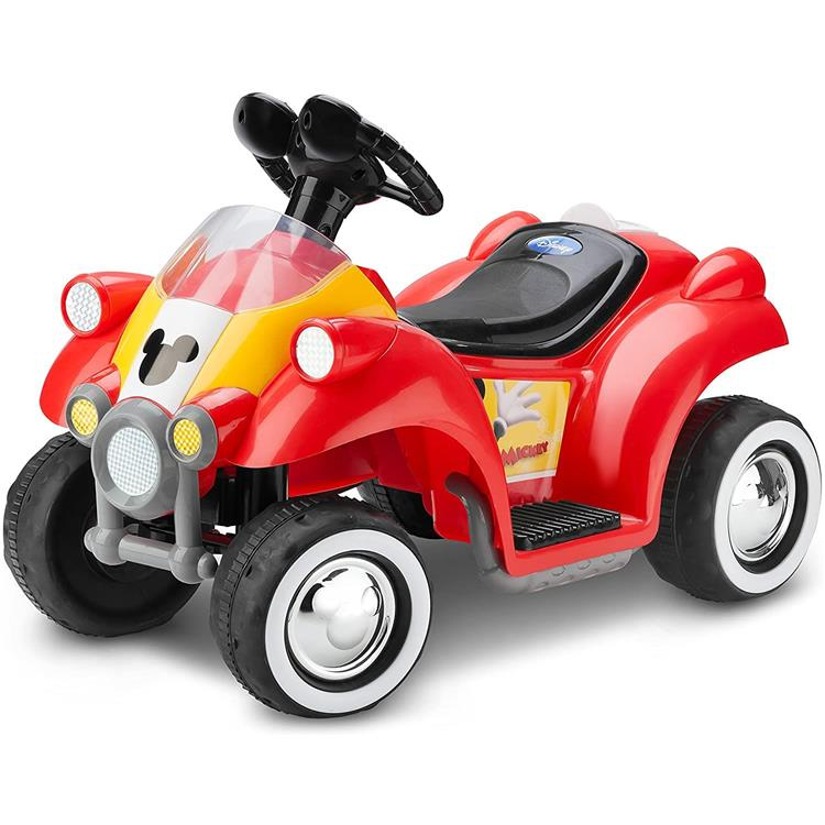 KidTrax Disney's Mickey Mouse Toddler Quad, 6-Volt Ride-On Toy, ages 18 - 30 months