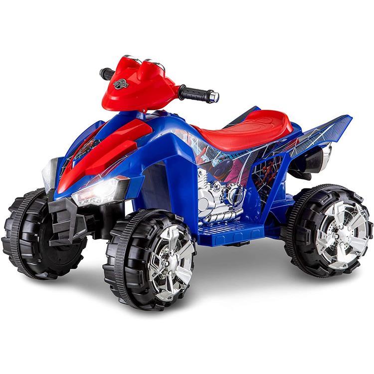 KidTrax Marvel's Spider-Man ATV, 6-Volt Ride-On Toy, ages 3 - 5