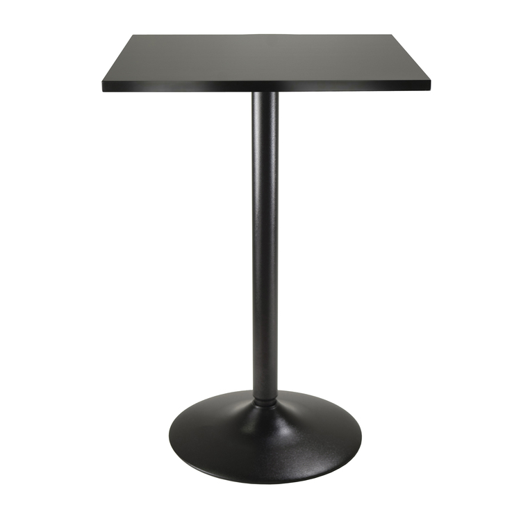 Winsome Wood Obsidian Pub Table