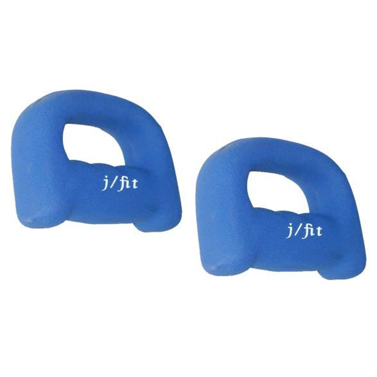 J Fit Neoprene Grip Dumbbell Weights