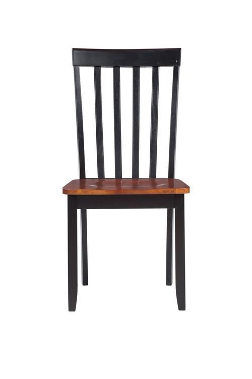 Boraam Bloomington Dining Chair, set of 2, Black/Cherry