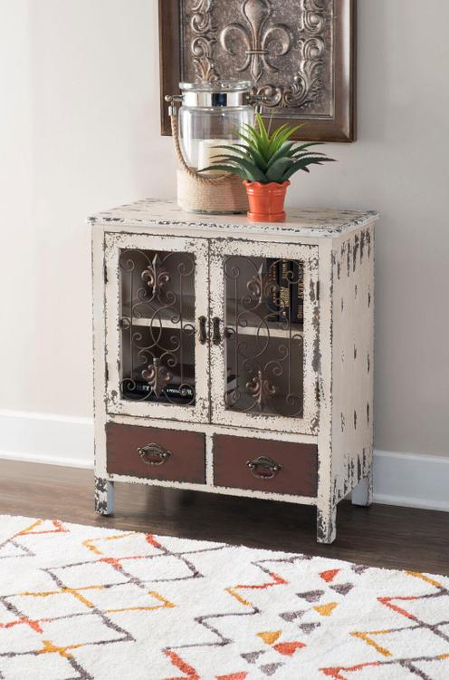 Parcel 2 Door 2 Drawer Console
