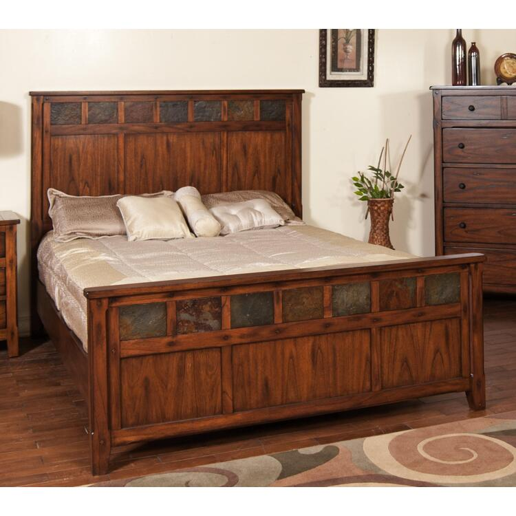 Santa Fe Petite Eastern King Panel Bed