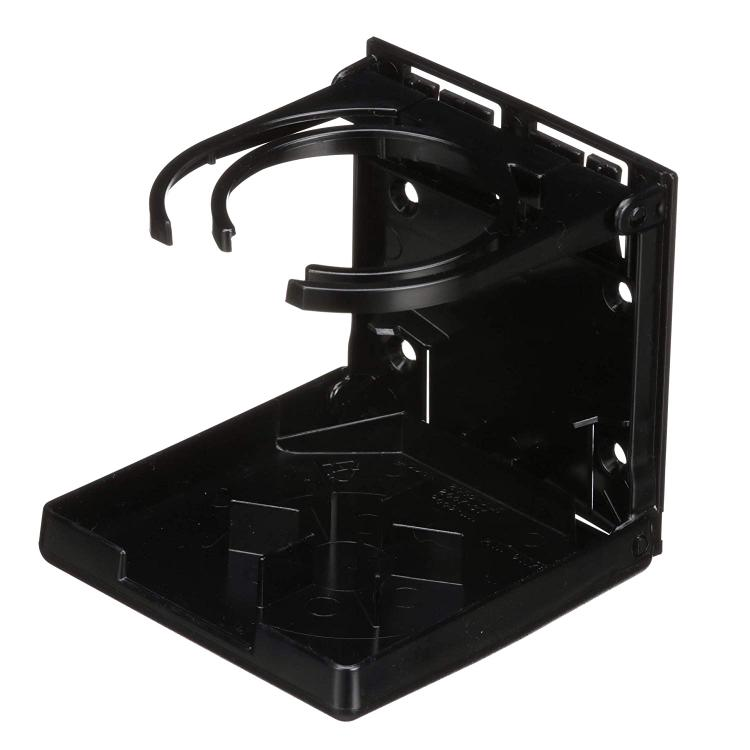 Attwood Marine Attwood Fold-Up Drink Holder - Dual Ring - Black