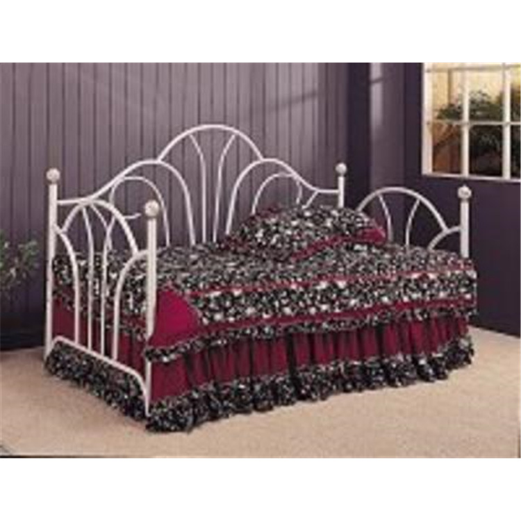 Coaster Home Traditional Metal White Daybed