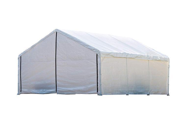 ShelterLogic 18×20 White Canopy Enclosure Kit