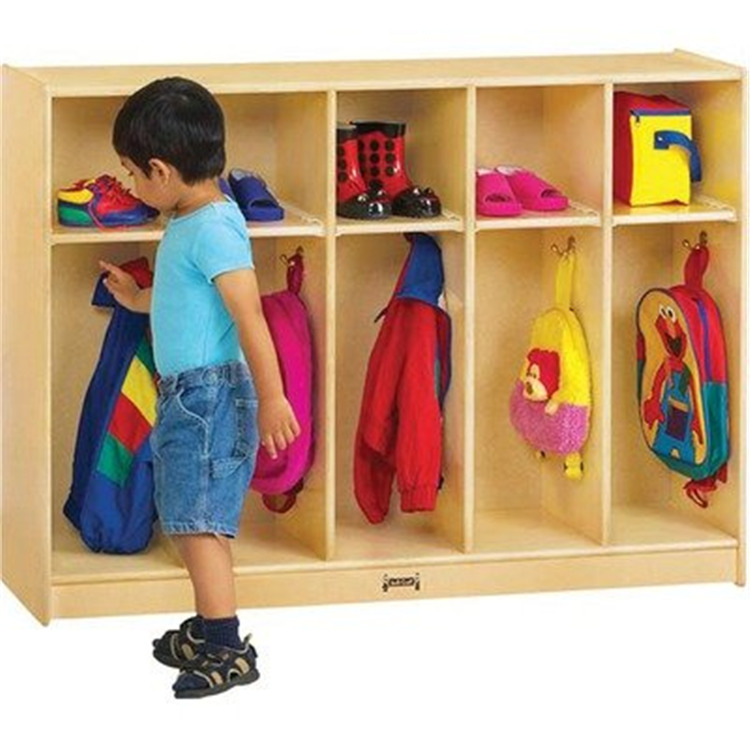 Thriftykydz® Toddler Coat Locker - 5 Sections