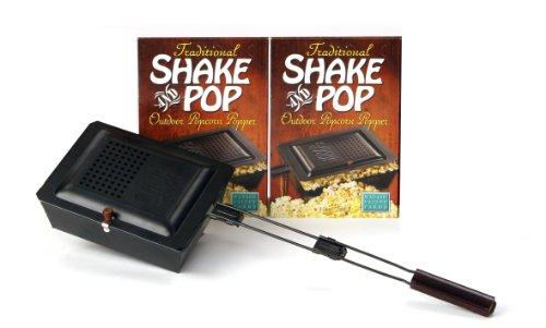 Traditional Shake & Pop Outdoor Popcorn Popper - No Popcorn Included