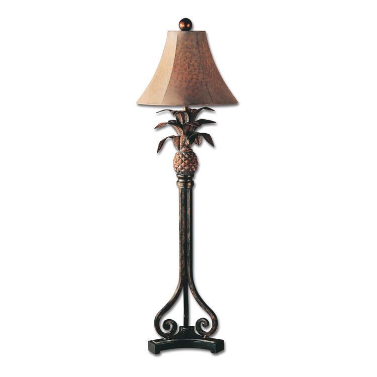 Decorative Metal Pineapple Lamp