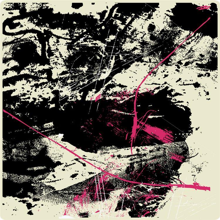 HomeRoots Decor 1-inch x 48-inch x 48-inch Black & Beige, Canvas Print - Wall Art