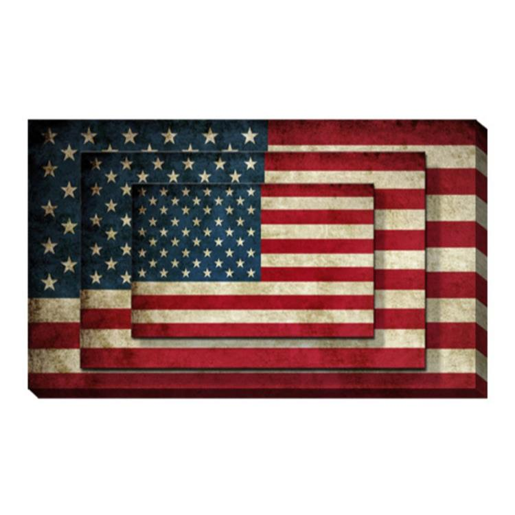 HomeRoots Decor 1-inch x 9-inch x 13-inch Multi-Color, Canvas Print, Wall Art - 4 Piece