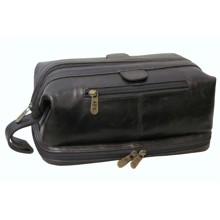 Amerileather Toiletry Bag with Bonus Accessories [Item # 27-4]