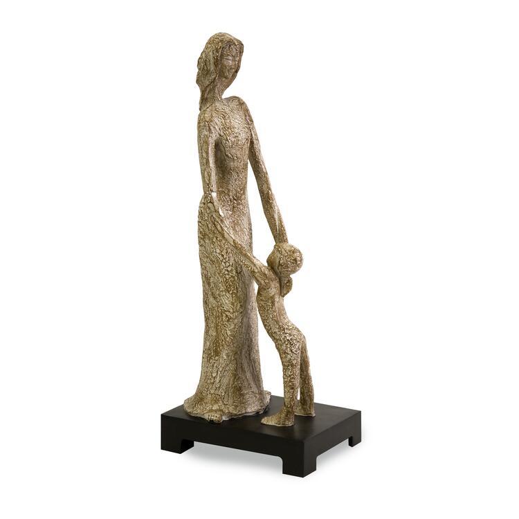 CKI Madame with Child Figurine