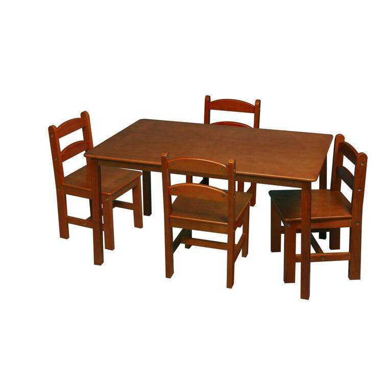 Gift Mark Table with 4 Chairs