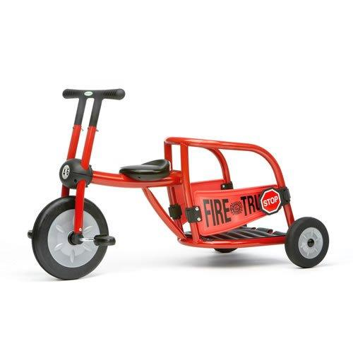 Italtrike Red Fire Truck Tricycle