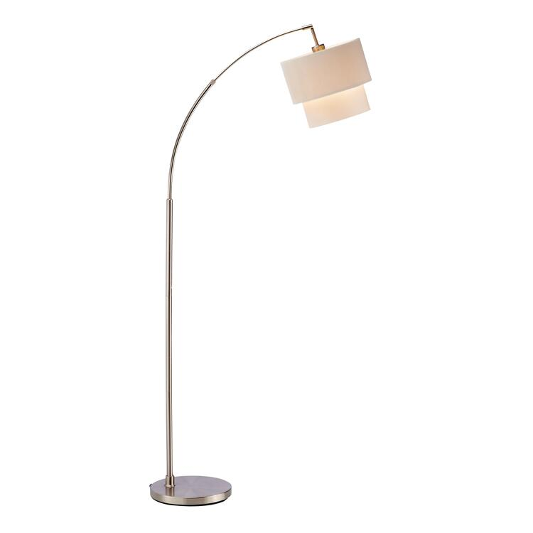 Adesso Gala Arc Lamp-Natural