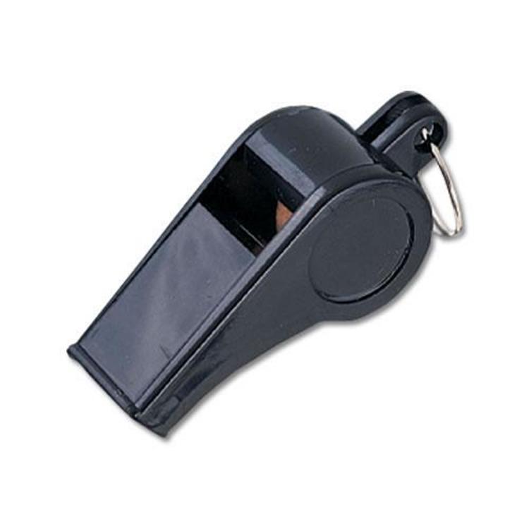 MacGregor Black Plastic Whistles