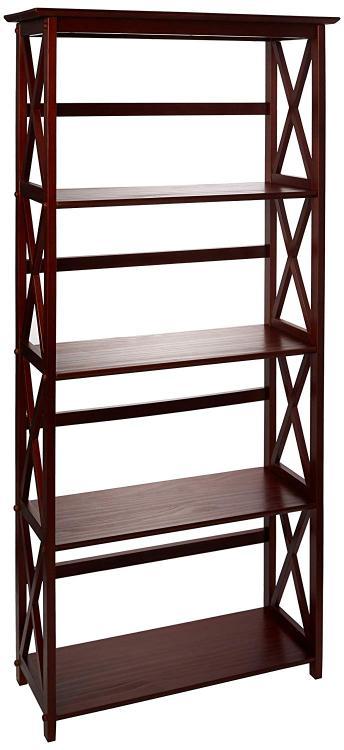 Casual Home Montego 5-Shelf Bookcase