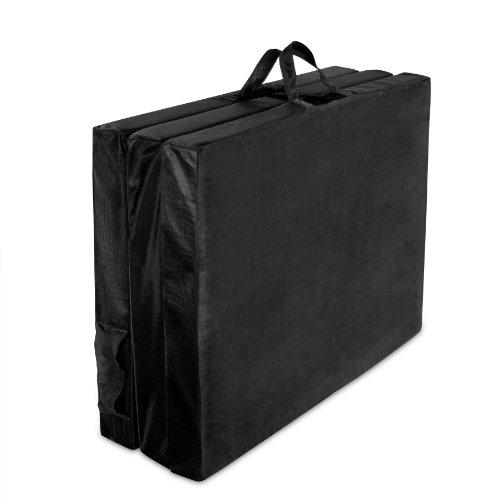 Adult TriFold Hide 'A Mat Twin, Black