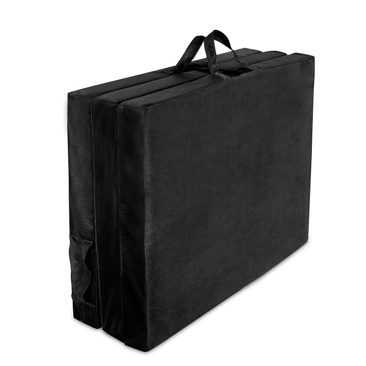AFA Adult TriFold Hide 'A Mat Twin, Black