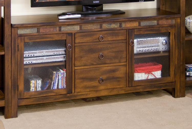 Santa Fe TV Console w/ Game Drawer