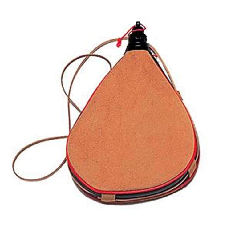 Leather Teardrop Bota Bag