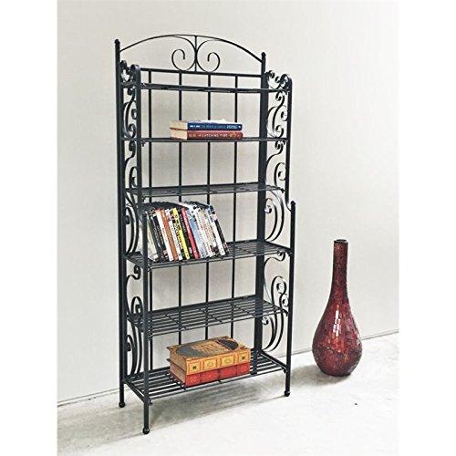 International Caravan 6-Shelf Tall Cd/Dvd Storage Rack
