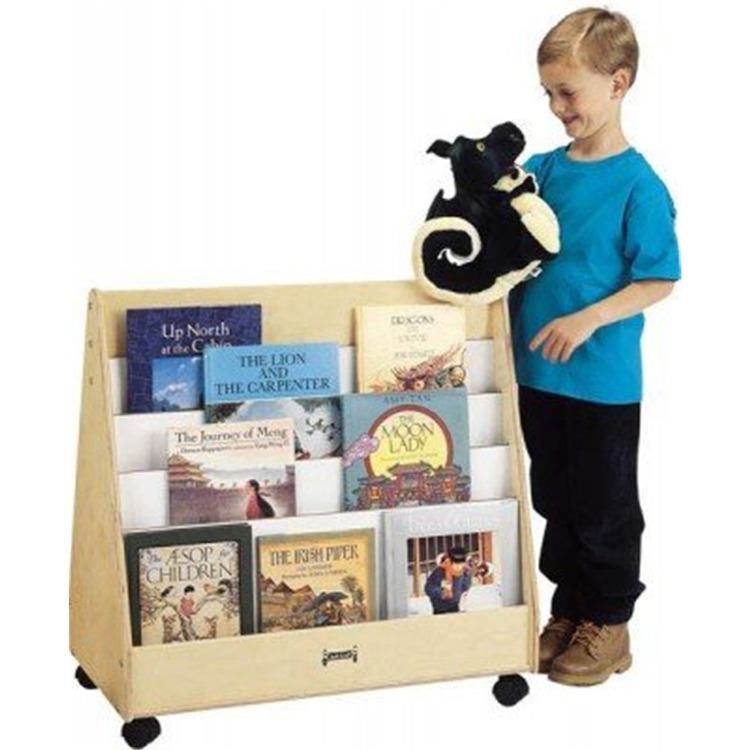 Jonti-Craft Mobile Pick-a-book Stand - 2 Sided