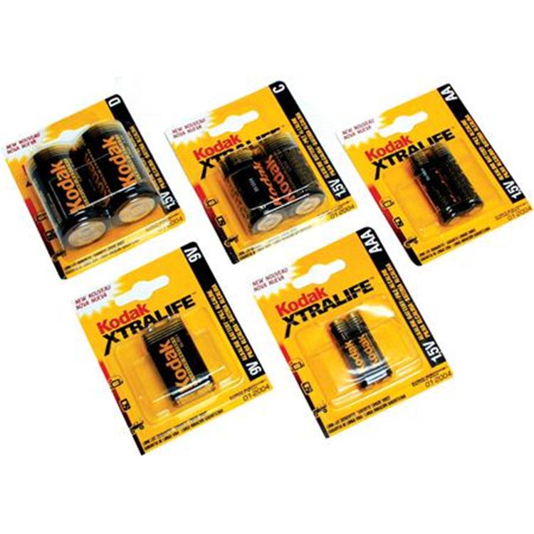 Kodak Xtralife Batteries