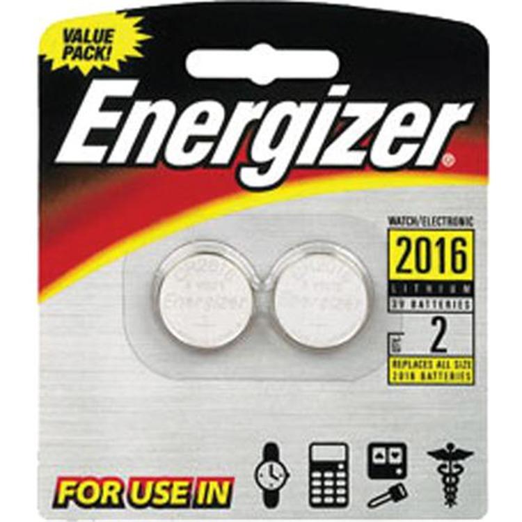 Energizer Batteries - Cr2016