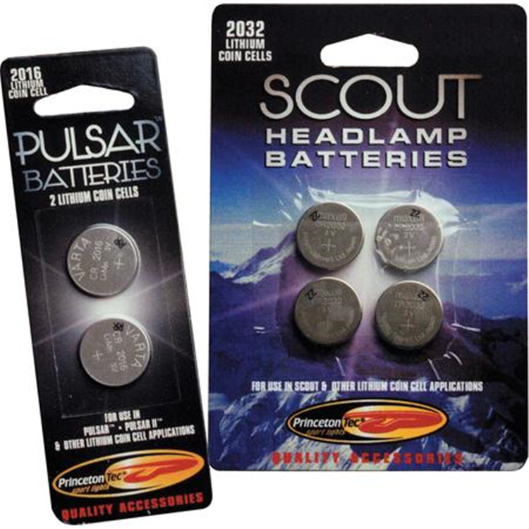 CR2016 Lithium Batteries - 2 Pack