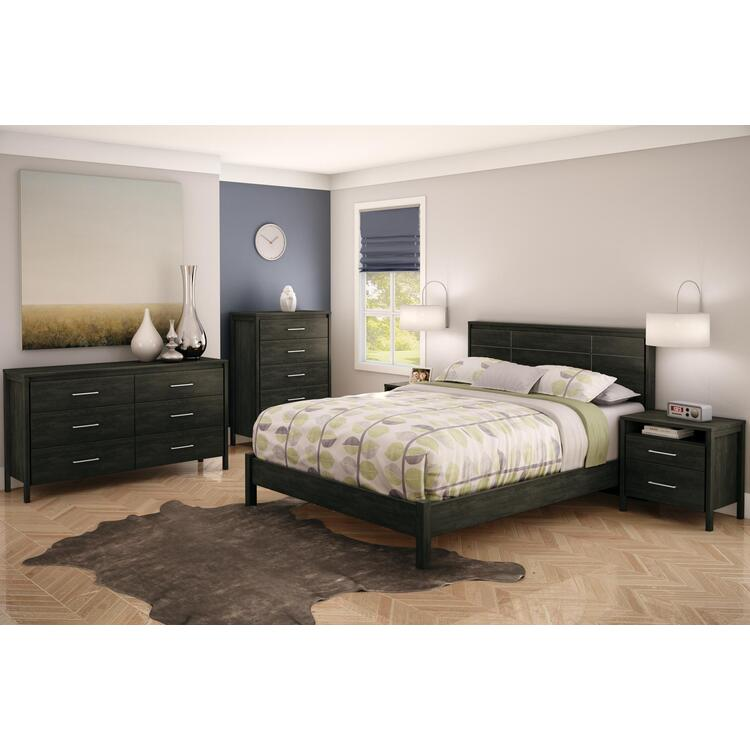 Gravity Queen 6 Piece Bedroom Set
