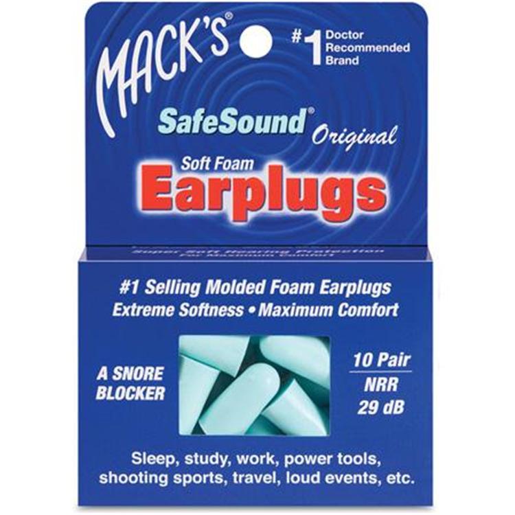 Mack's Safesound Foam Earplugs
