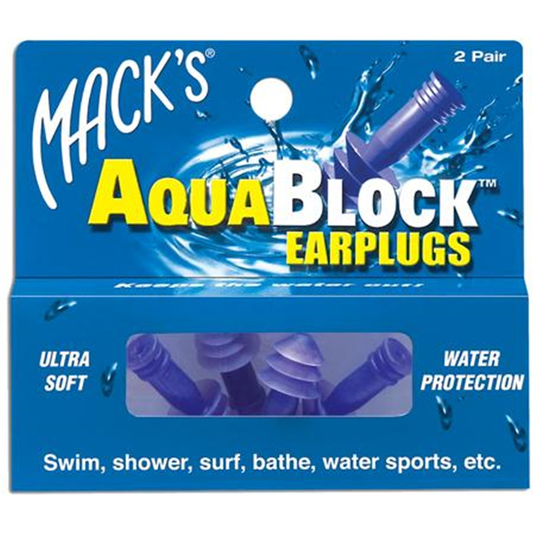 Mack's Aquablock Earplugs [Item # 360015]