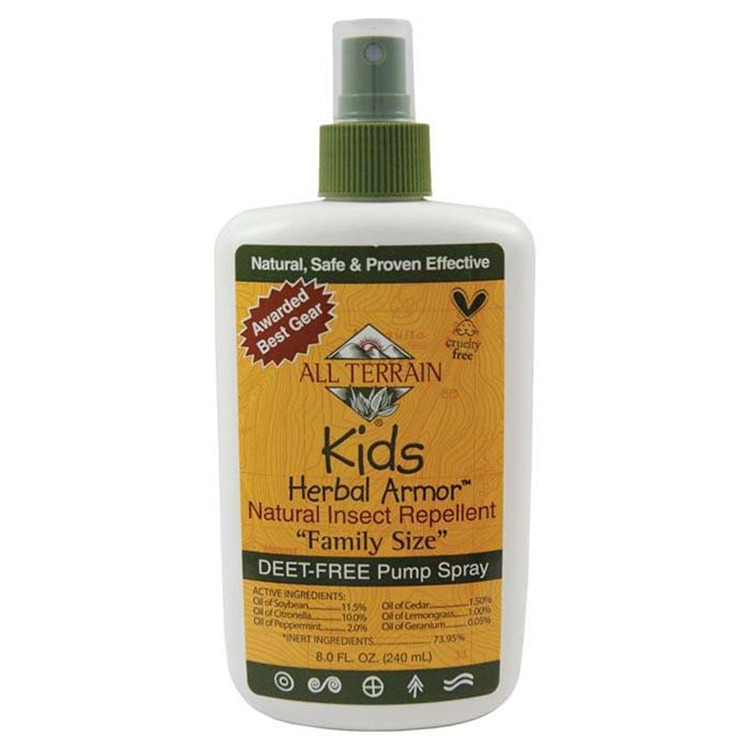 Kids Herbal Armor Spray 8 Oz