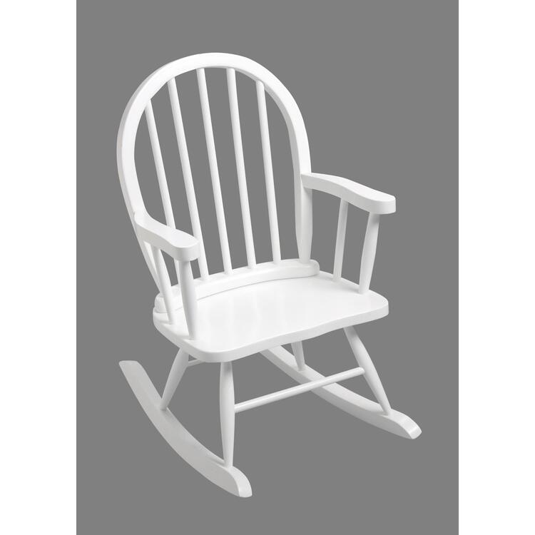 GiftMark Windsor Childrens Rocking Chair