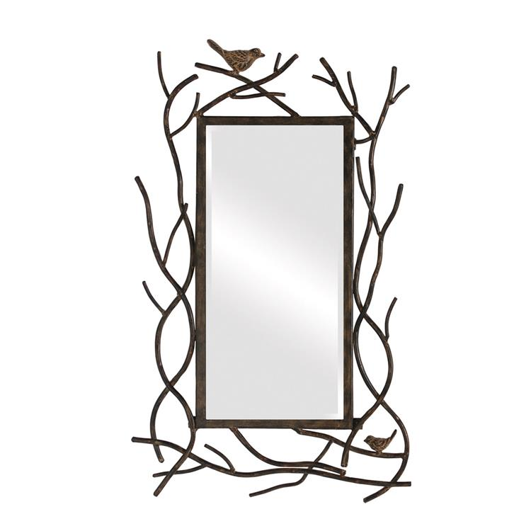 HomeRoots Decor 14-inch X 23-inch Bird Mirror