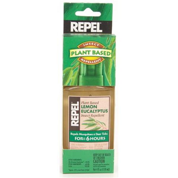 Repel Lemon Eucalyptus Insect Repellent - 4oz Spray