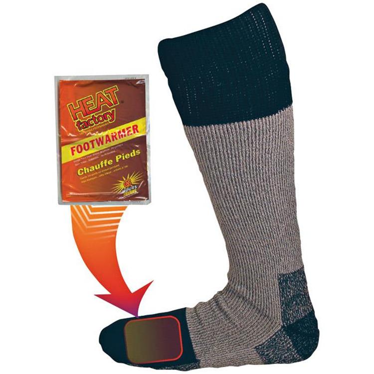 Heated Sock 5-8 Hvwt Merino
