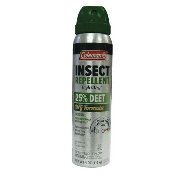 Coleman 25% Deet Ultra Dry 6Oz