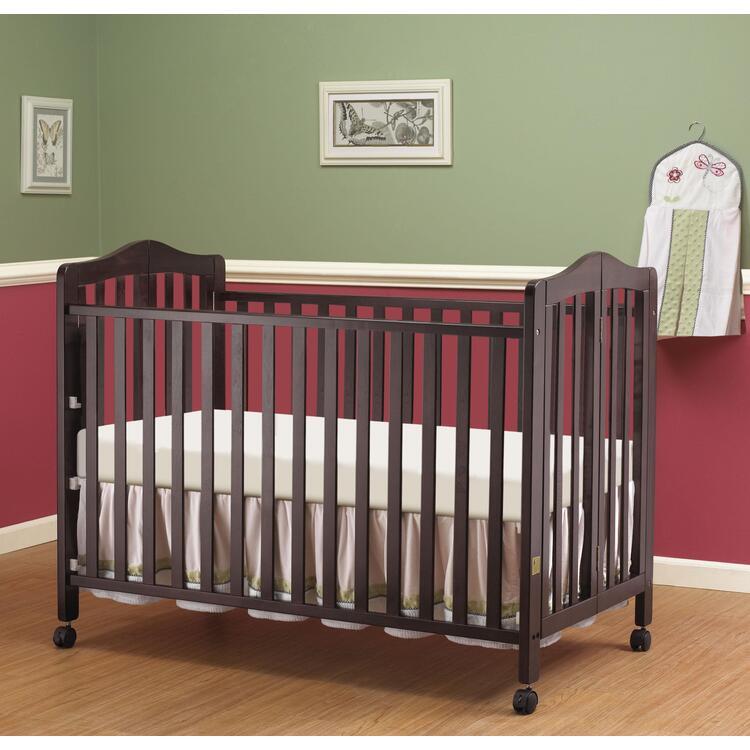 Lisa Two Level Full Size Folding Crib