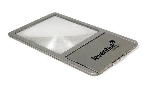 Levenhuk Zeno 90 Fresnel Lens, 2.5x, 48x45 mm, Metal