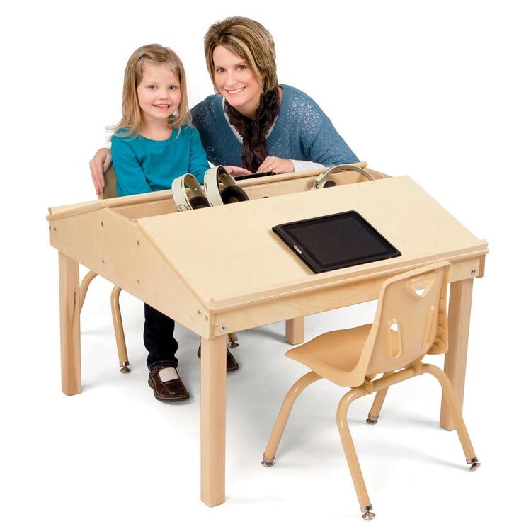 Jonti-Craft® Quad Tablet And Reading Table
