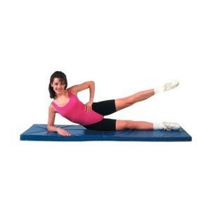 CanDo® Exercise Mat - Center Fold - 1