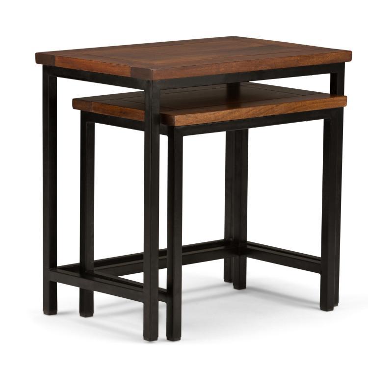 Simpli Home Skyler Nesting Side Table
