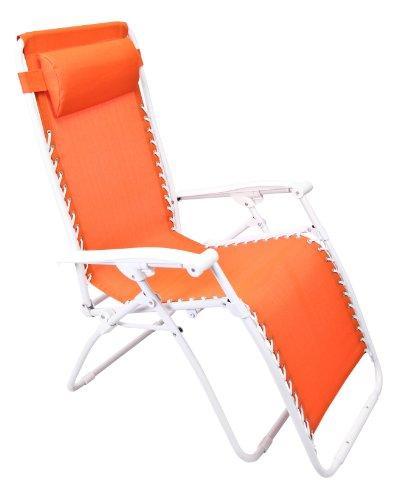 Zero Gravity Chair in Orange