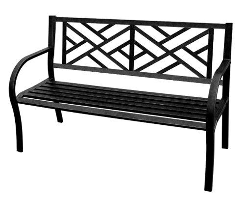 Cast Iron Maze Bench