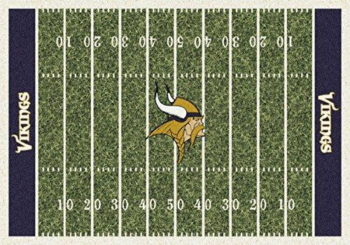 NFL Team Home Field Minnesota Vikings Area Rug